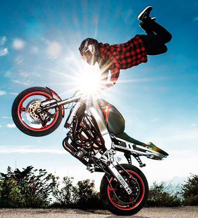 Vous etes passionne de moto